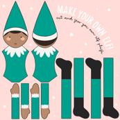 Green Christmas Elf