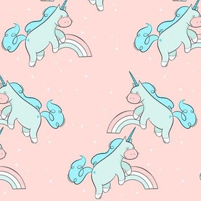 Blue Unicorns