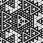 Geometric Black and White