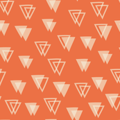 Birthday - Triangles - Red