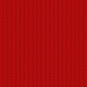 ribbing knit red (large scale)