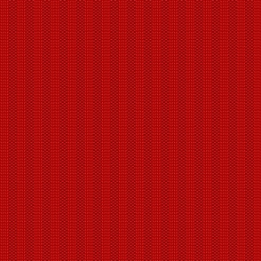rib knit red (small scale)