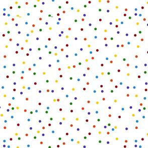 Multicolor Rainbow Dots (larger)