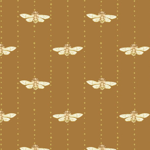 Cicadas {Antique Gold}