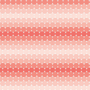 Coral Gradient dots