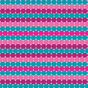 Cotton Candy Rainbow Dots
