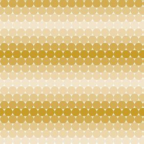 Gold Gradient Dots