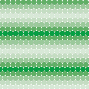 Dark green Gradient Dots