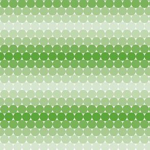 Light Green Gradient Dots