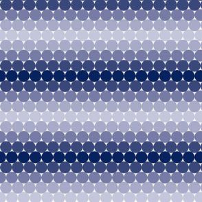 Indigo Gradient Dots