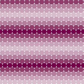 Mulberry Gradient Dots