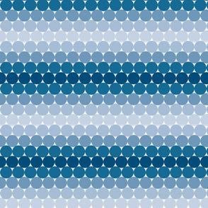 Navy Gradient Dots