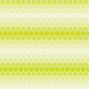 Neon Green Gradient Dots