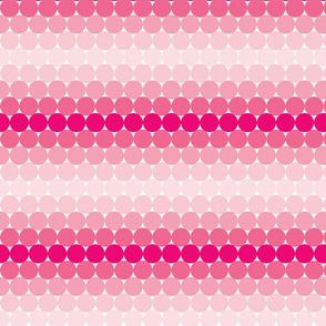 Pink Gradient Dots