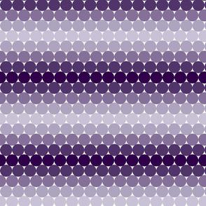 Plum Gradient Dots
