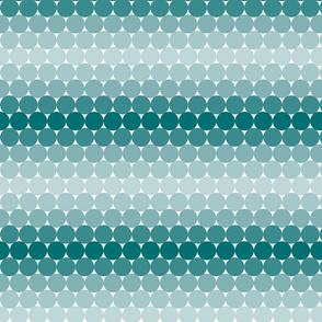Teal Gradient Dots