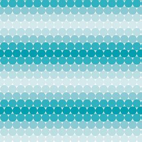 Light Blue Gradient Dots