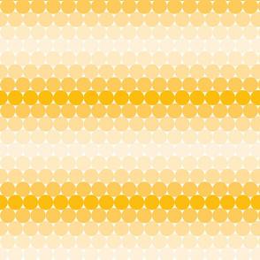 Yellow Gradient Dots