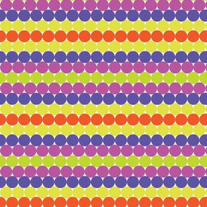 Halloween Rainbow Dots