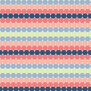 Rainbow Pastel Dots