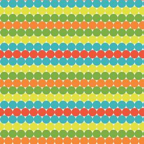 Summer Citrus Dots