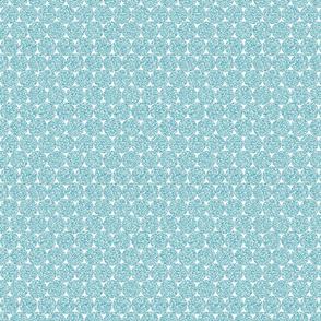 Light Blue Glitter dots