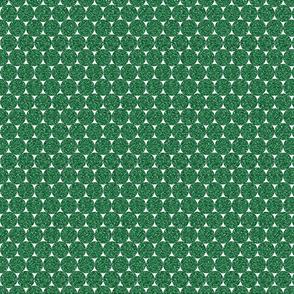 Green Glitter Dots