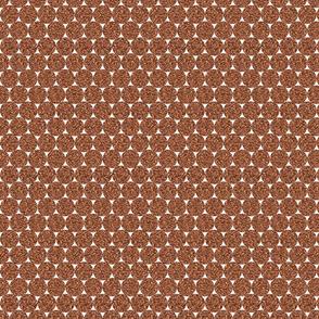 Rust Glitter Dots