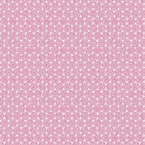 Bubblegum Pink Glitter Dots