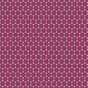 Magenta Glitter Dots