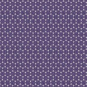 Dark Purple Glitter Dots