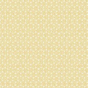 Light Yellow Glitter Dots