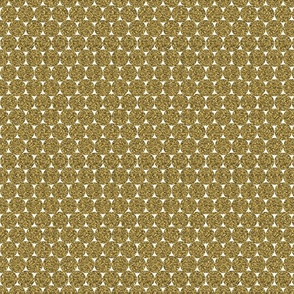 Dark Yellow  Glitter Dots