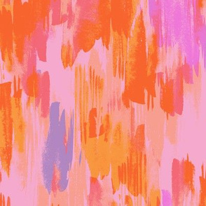 Orange, pink, red, lilac abstract pattern
