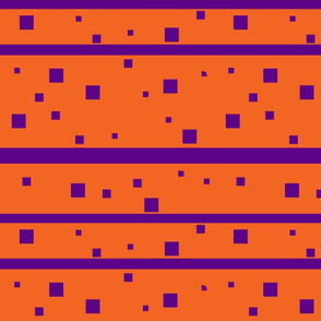 Orange and purple squares Med Jumbo