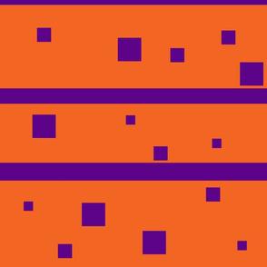 Orange and purple squares Jumbo