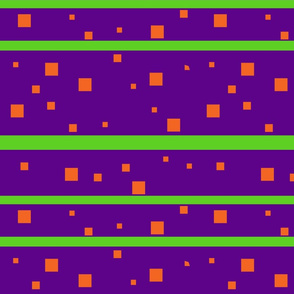 Purple and orange squares Med Jumbo