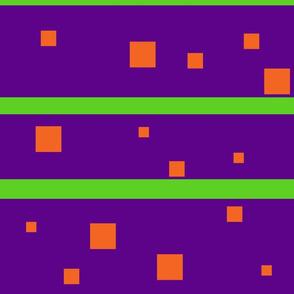 Purple and orange squares Jumbo
