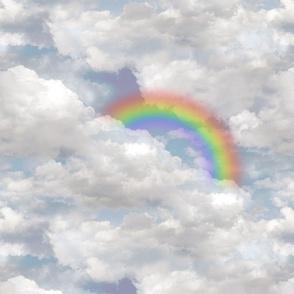 Wonderland - Cloudy Sky Rainbow