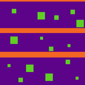 Purple and green squares Jumbo