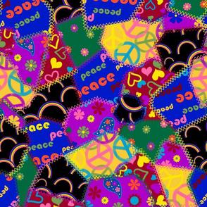 70s patchwork