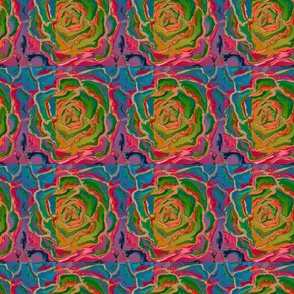 Absract Flower - multicolor