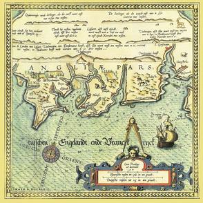 Vintage Sea Chart 3