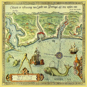 Vintage Sea Chart 4