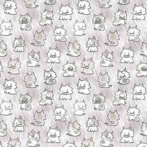 My Kitties lavender blush