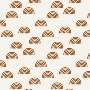 Mini Micro Print // copper on bone