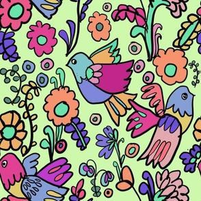 Groovy Birds