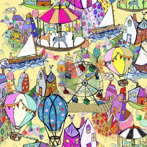 Whimsical Wonderland Fabric
