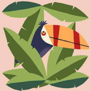 Hiding Toucan