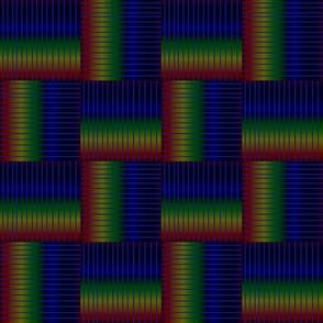 Dark rainbow lines